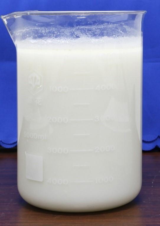 所制备的羟基磷灰石超长纳米线的水性浆料,呈现优质的白色,分散性好,是制造新型无机耐火纸的理想原料