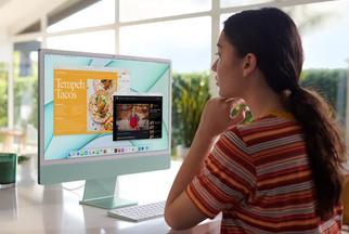 """2021新iMac体验:内""""芯""""凶猛 颜值多彩"""