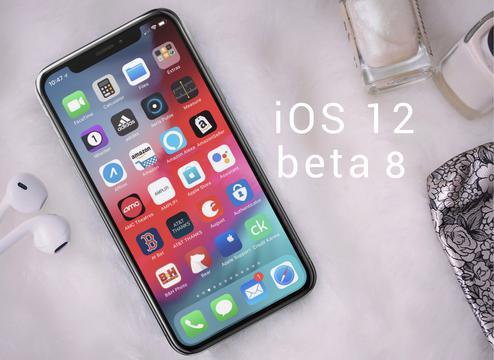 iOS 12第8个测试版这回提前到了