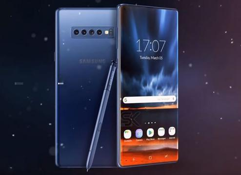 三星Galaxy Note 10后置四摄曝光