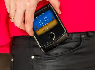 摩托罗拉发布Razr折叠屏手机