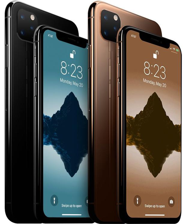 iPhone 11 Pro系列正面变化不大