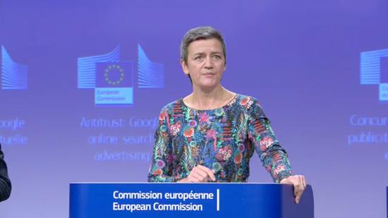 《【星图账号注册】欧盟反垄断主管:到目前为止 没有必要拆分科技巨头》