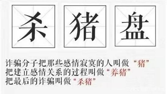 """深度解剖""""杀猪盘""""骗局:真爱屠宰场""""寻猪、养猪、杀猪""""三部曲"""