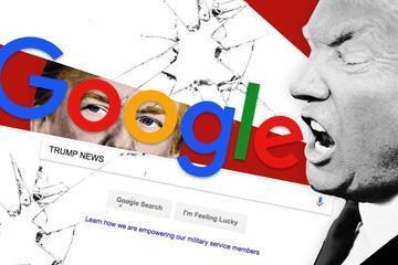 特朗普炮轰:Google一下,净说我坏话!