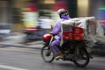 双十一,我在上海送快递