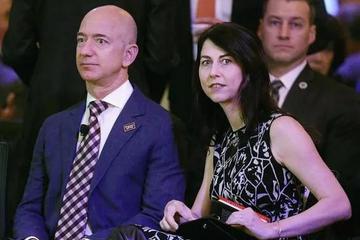贝索斯离婚!富豪榜首跌至第七,前妻仍是朋友、合伙人