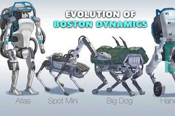 波士顿动力十年对比,网友:以后该不会变成终结者吧?