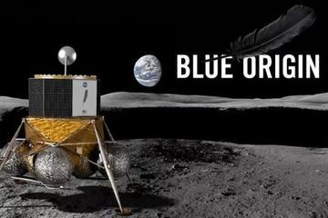 """贝索斯发布登月飞船!""""我们将重返月球 并留在上面"""""""