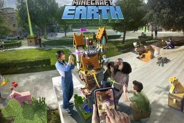 微软推出AR版Minecraft,让你改造无趣现实世界