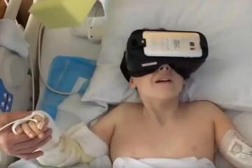 戴上VR,从医院逃亡