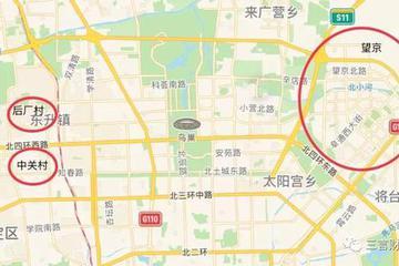 互联网公司总部选址分布:后厂村就是半个中国互联网