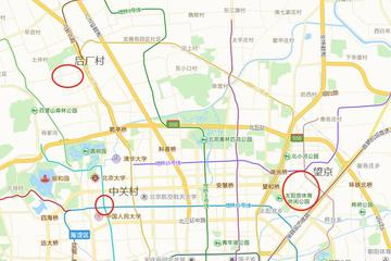 北京互联网公司总部选址分布:后厂村就是半个中国互联网
