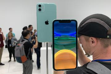 iPhone 11的六种颜色实拍