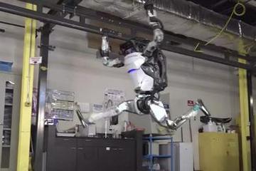 孙悟空都服输!波士顿动力最新逆天机器人360度翻跟头