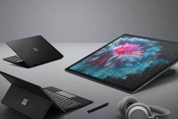 微软发暗黑系Surface全家桶