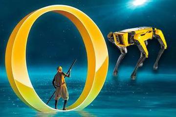 机器狗签约世界第一马戏团