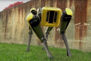 波士顿动力机器狗明年上市!但不能给机器人配武器
