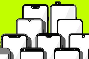 智能手机屏幕江湖