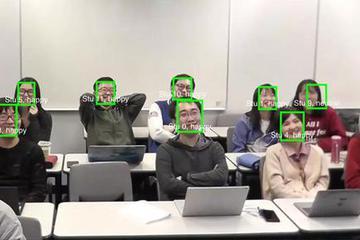 摄像头可看出你上课是否走神