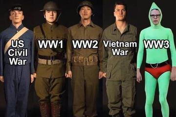 国外网民用键盘打了一场第三次世界大战