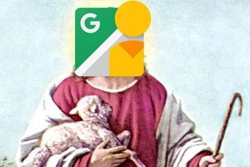 人在做,谷歌街景在看