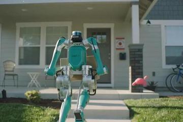 """机器人来敲门,美国如何做到""""零接触""""送货"""