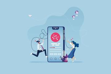 二元化的在线音乐