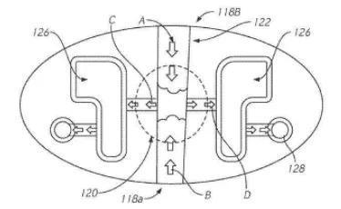 铸造时,首先使第一顶出模具部分沿第一方向第一轴线朝向盖模部分一侧平移,接着平移第二顶出模具,盖模部分固定地定位在中心毂上。