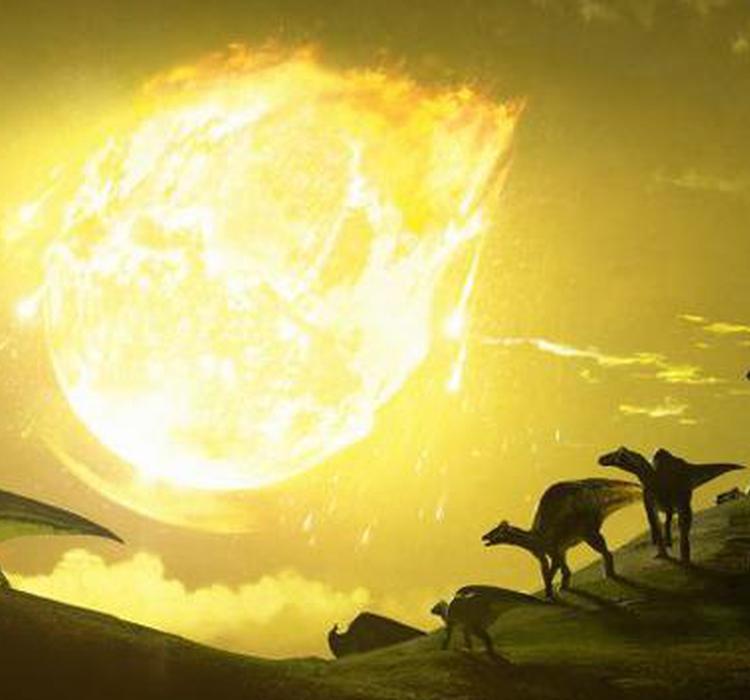 小行星以陡倾角度撞地球致恐龙灭绝:其撞击效果更有杀伤力