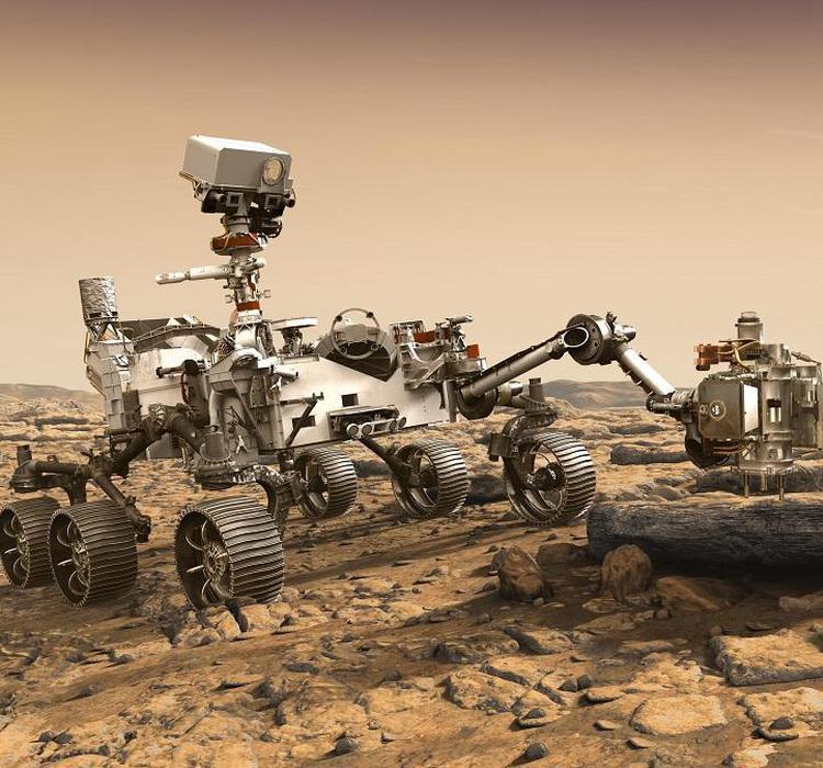 """美""""毅力号""""火星车将月底升空,探寻微生物遗迹"""