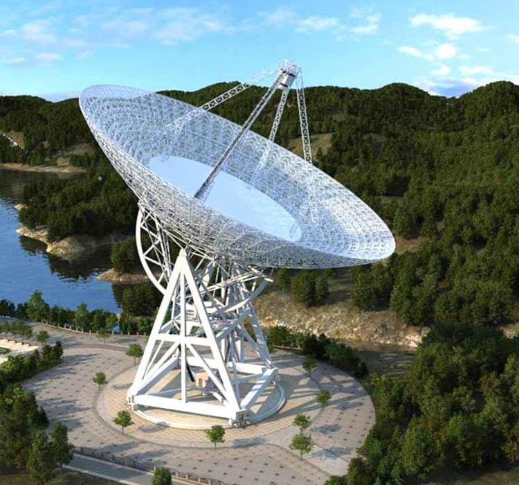 云南景东120米脉冲星射电望远镜项目启动