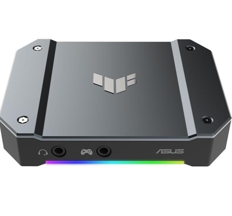 华硕推出TUF Gaming视频采集盒,最高抓取4K 30fps画面