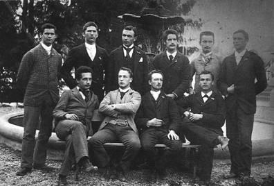 爱因斯坦在大学的时候