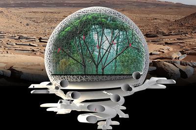人类能否殖民火星?首先需要在火星建立自给自足基地
