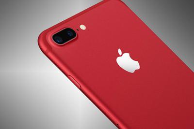 苹果本周一发布红色iPhone 8