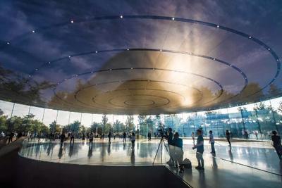 苹果安保升级:以后可能没有新园区无人机航拍视频