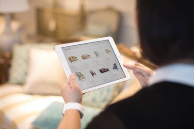 iPad实用新方向:苹果联合IBM给美克美家带来新体验