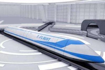 中日研发高速气动悬浮列车 时速可达400-500公里
