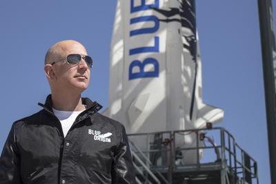 贝索斯减持10亿美元亚马逊股票 为蓝色起源提供资金