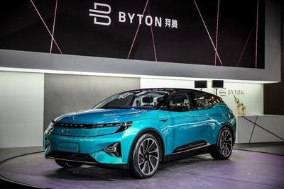 拜腾Concept概念车亮相北京车展:2019年上市 30万起