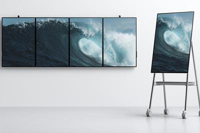 微软悄然发布Surface Hub 2:50英寸的大平板