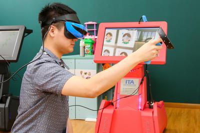 孤独症患者的福音,VR虚拟场景助其融入现实生活-烽巢网