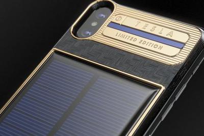 俄珠宝商推出超豪华版iPhone X 致敬特斯拉