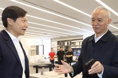蔡奇走访小米和联想 称赞联想扛起民族产业大旗