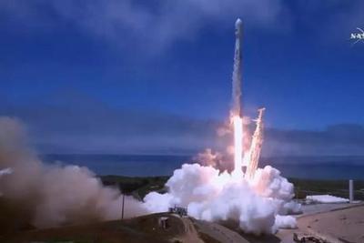 """""""猎鹰""""9混发铱星和科学卫星 整流罩回收又未果"""