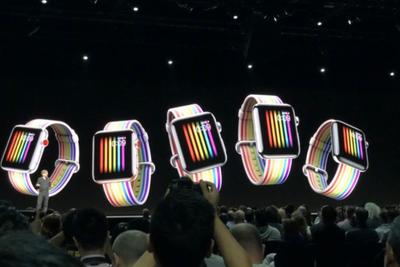 Apple Watch去年销量增60% 新增社交健身和对讲功能
