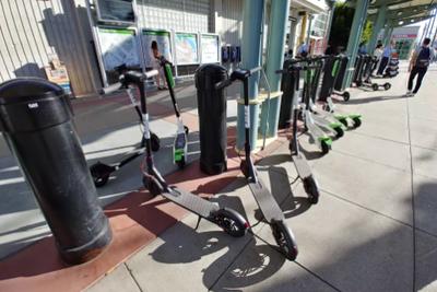 美媒:共享电动滑板车已暂时消失在旧金山街头