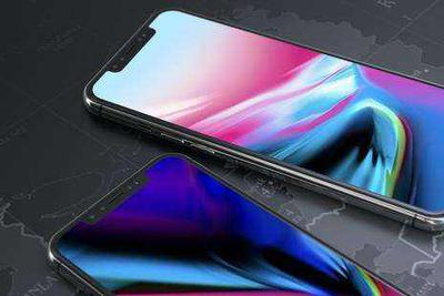 2018新iPhone贴膜再曝光 LCD版边框略宽