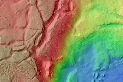 国外艺术家竟然利用火星地形数据制作逼真视频